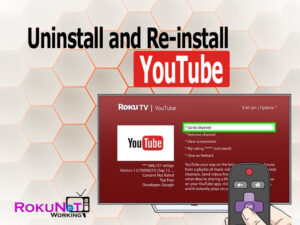 Uninstall and Re-install YouTube